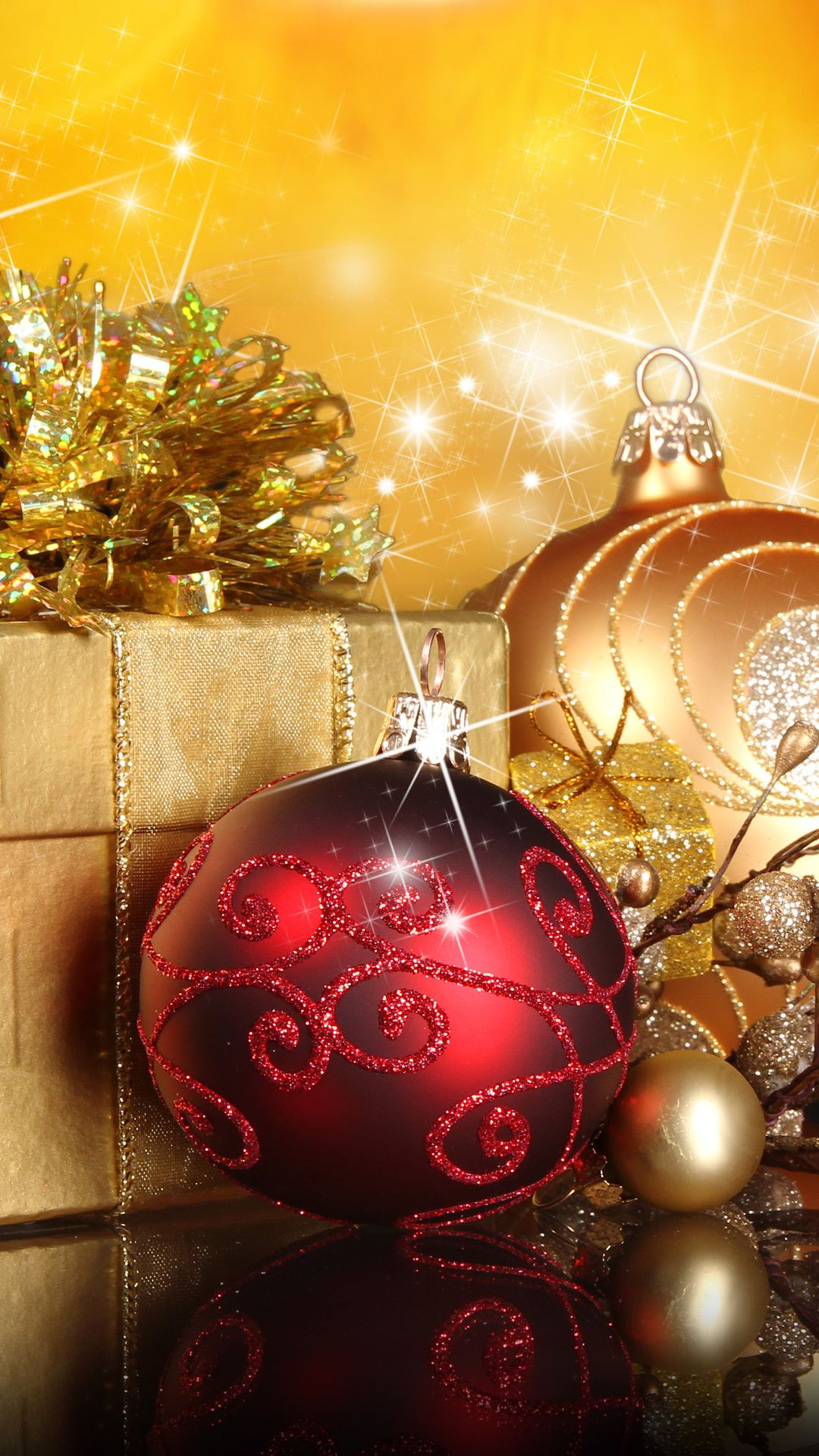 New Year Wallpaper App Christmas Trees Gifts The Celebration Background Desktop Backgrounds Wallpapers