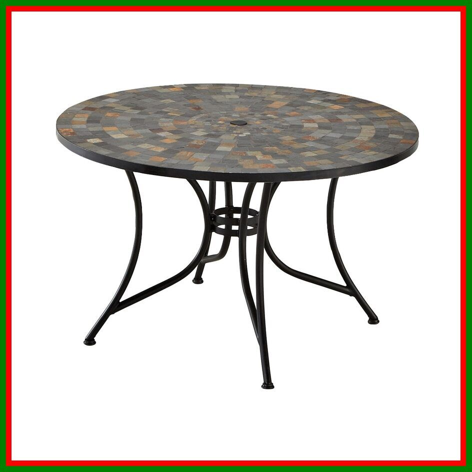 125 Reference Of Patio Table Lowes In 2020 Round Outdoor Dining Table Steel Dining Table Patio Dining Set
