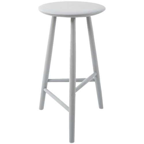 Oliver Tall Grey Wooden Bar Stool Chairs Pinterest