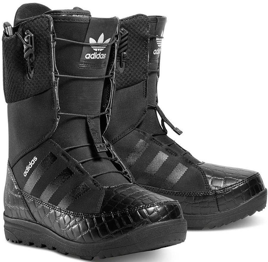 Adidas Mika Lumi Women S Snowboard Boots Uk 6 5 Black Silver 2016 Boots Snowboard Boots Snowboarding Women