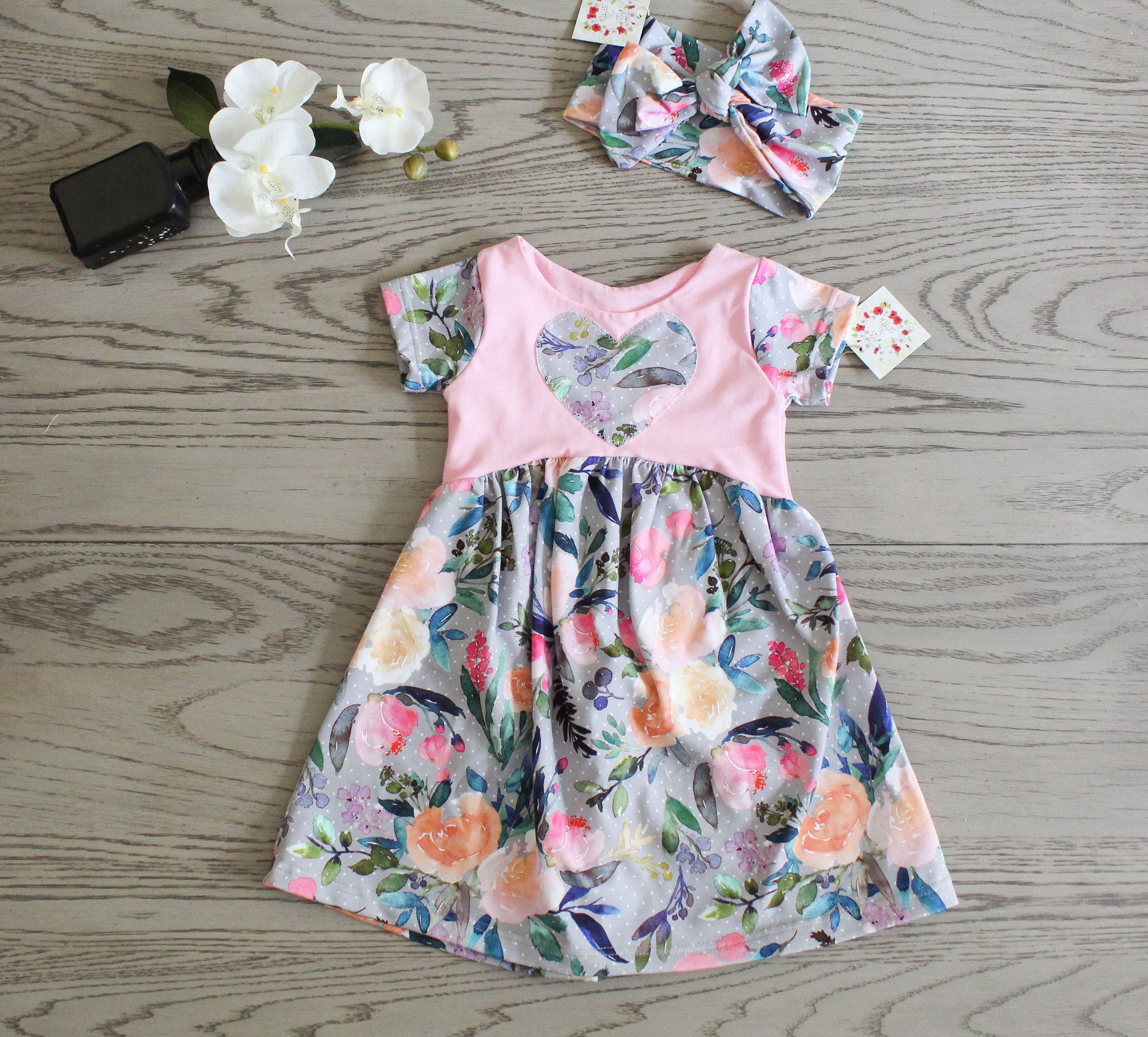 Girls 3t Dress Floral Toddler Dress Summer Dress And Large Bow 3t Birthday Outfit Boho Chic Stylis Toddler Dress Stylish Baby Clothes Trendy Baby Clothes [ 2709 x 3000 Pixel ]