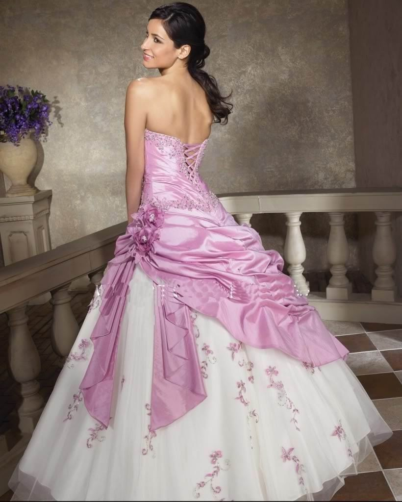 pink #wedding dress, this is a dream come true!!!!!!!   My Wedding ...