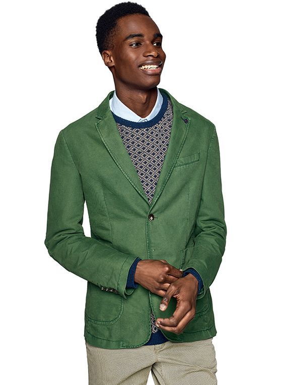 #clothesforhumans #Benetton #FW16 #collection #trend #fashion #man #jacket #green #knitwear