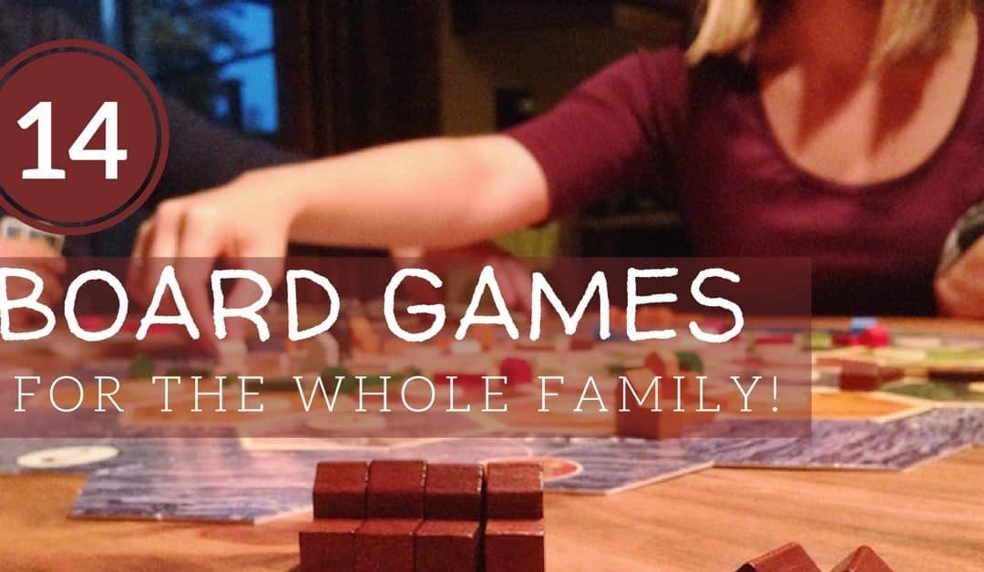 14 Family Fun Board Games To Play as a Family To Love