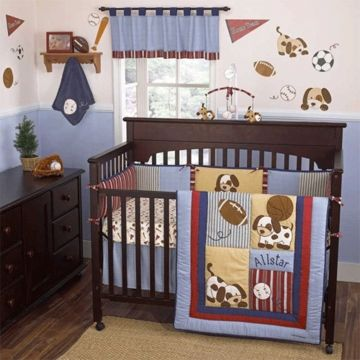 Puppy Room 98 99 Four Piece Set Nursery Room Boy Baby Room