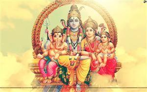 Shiv Ji And Parvathi Lord Shiva Family Shiva Wallpaper Lord Shiva