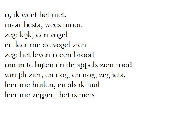 O Ik Weet Het Niet Herman De Coninck Gedichten Mooie