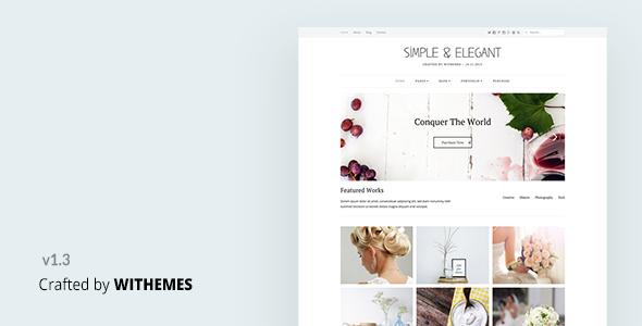 simple elegant multi purpose wordpress theme wordpress