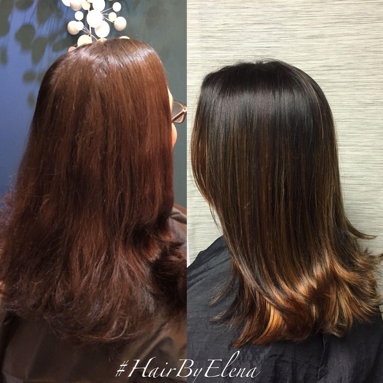 Hair color #hairbyelena
