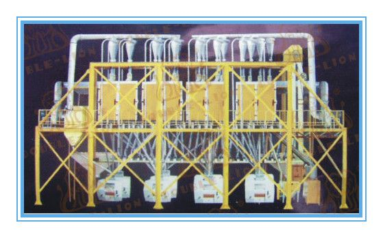 50-60 T/D wheat processing complete sets of equipment for sale