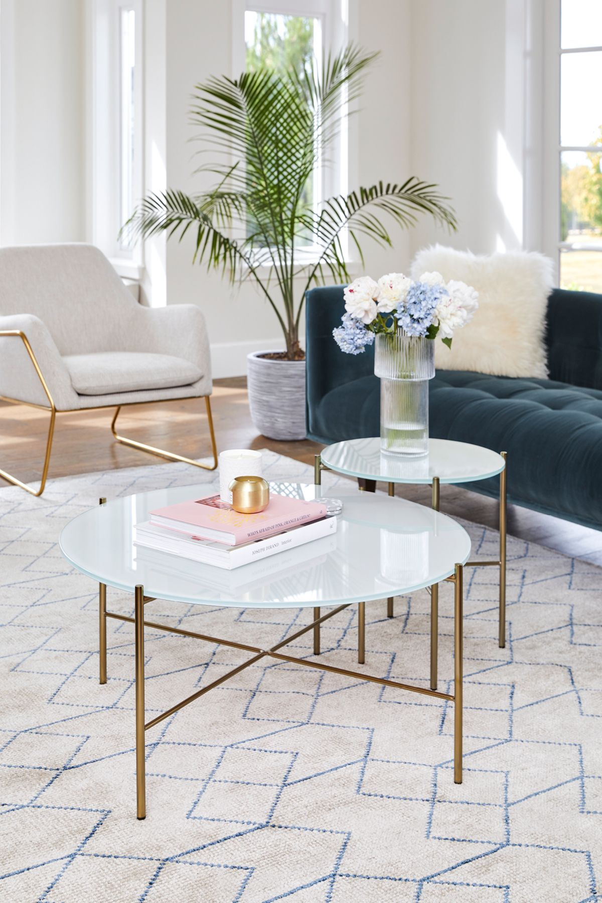 Silicus Light Gray Round Coffee Table Living Room Table Sets Coffee Table Modern White Living Room [ 1800 x 1200 Pixel ]