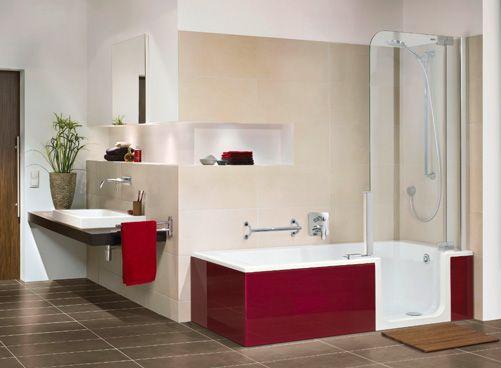 walkin tub and shower Dream Home Pinterest