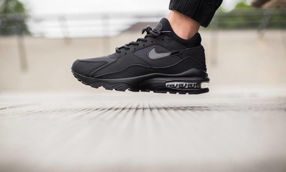 4b2c56c3e2b4 Nike Air Max 93 Triple Black | // S N E A K E R S A D D I C T ...