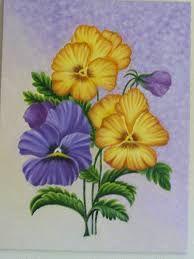Resultado De Imagen Para Flores Para Pintar Al Oleo Flores Para