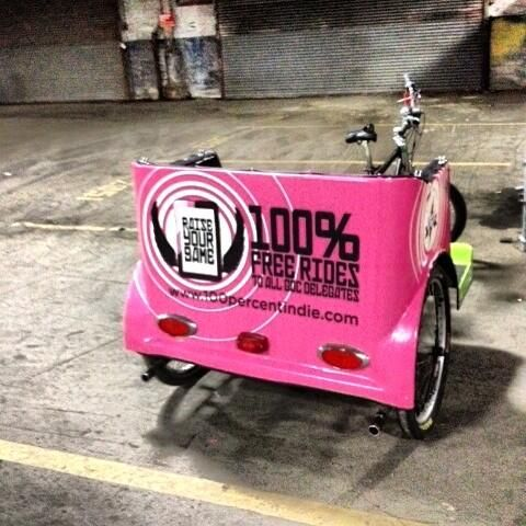 Twitter / VehicleWraps: Another batch of pedicabs knocked ...