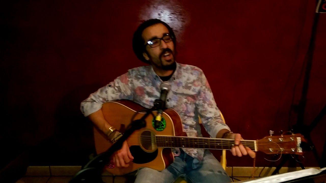 Freedom Acoustic cover Reggae live by Momo Casa Latina Bordeaux 5 fevr 2017