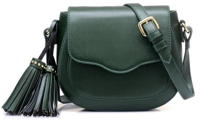 1c34ec6ee0b tassel mini shoulder bag handbag long belt lady bag casual leather ...