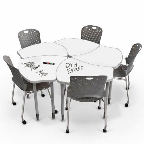 Dry Erase Collaborative Desks New Office E Pinterest Teacher Stuff School And