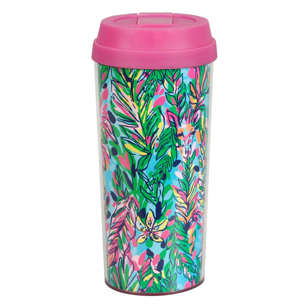 Lilly pulitzer 16oz travel mug hot spot lillypulitzer