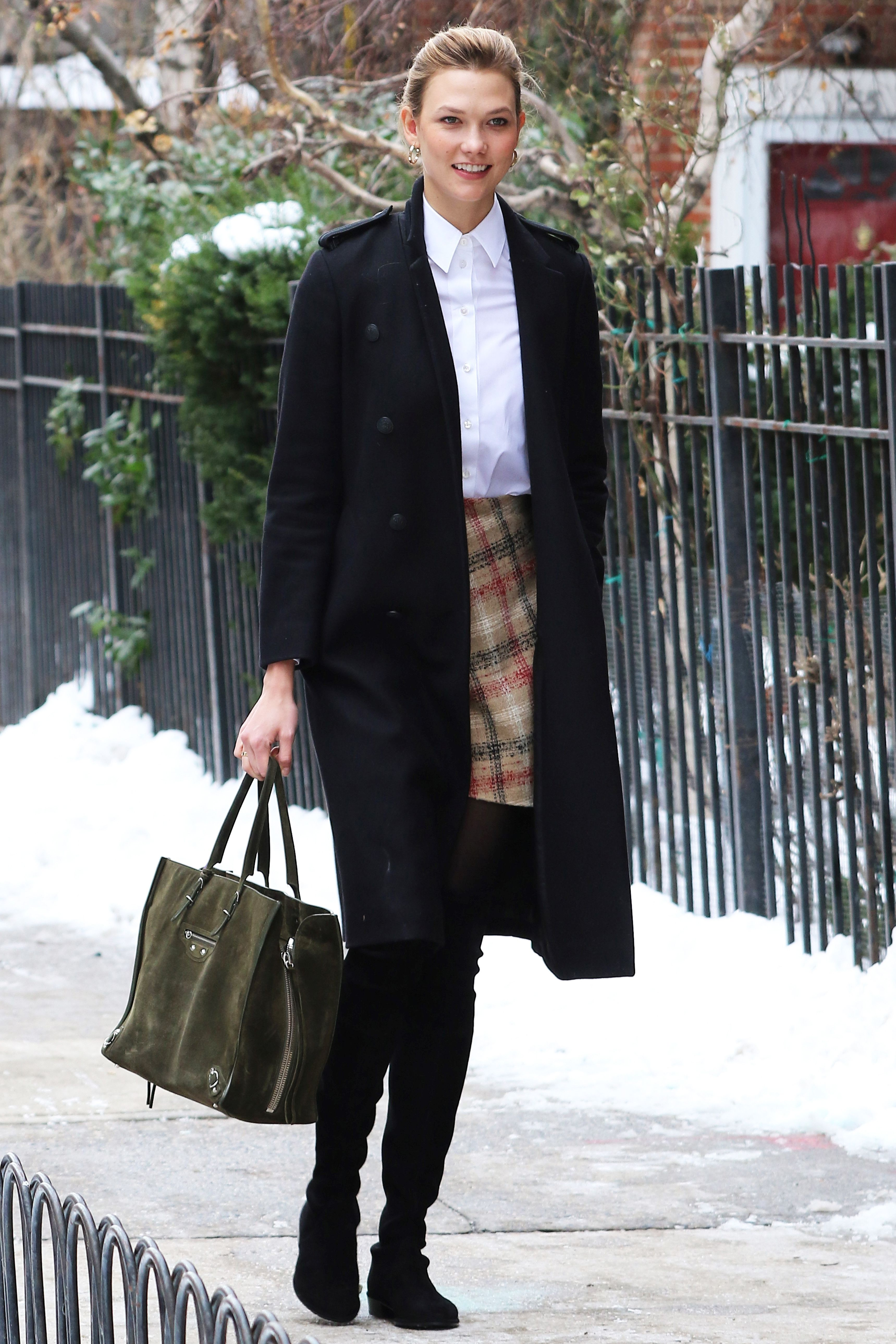 1e7bbe9e596 Here s How to Make Over-the-Knee Boots Feel Office-Appropriate ...