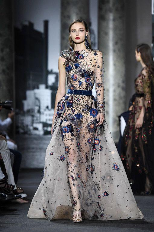6a5de9783c18d Elie Saab   Runway - Paris Fashion Week - Haute Couture Fall Winter  2016-2017