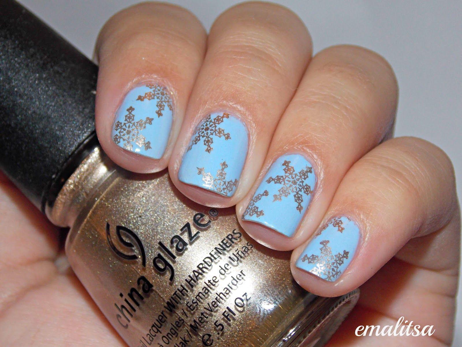 Konad Nail Art Google Search Nails Pinterest Simple Snowflake