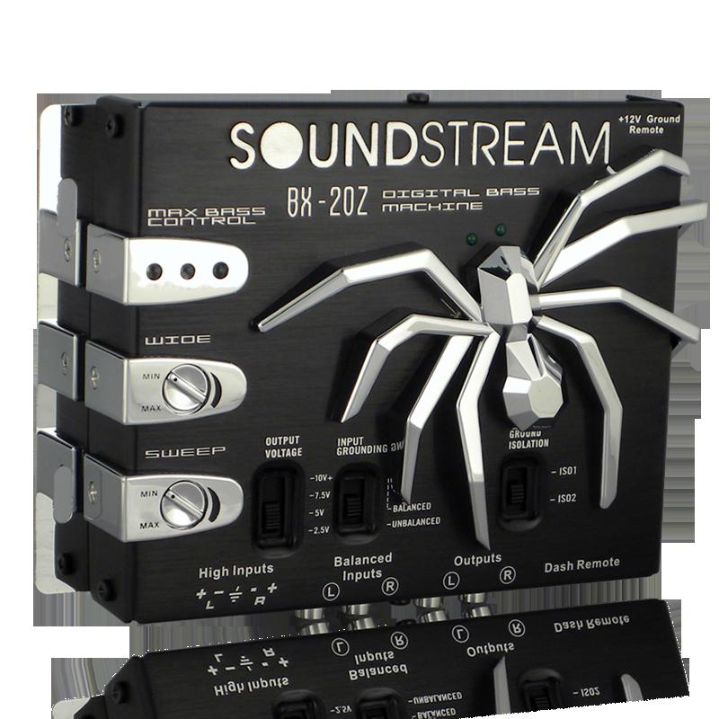 Soundstream BX-20Z Digital Bass Reconstruction Processor Driver Dash Mount Remot