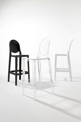 One more Bar chair - H 65cm - Plastic by Kartell   Interieur   Mensa ...