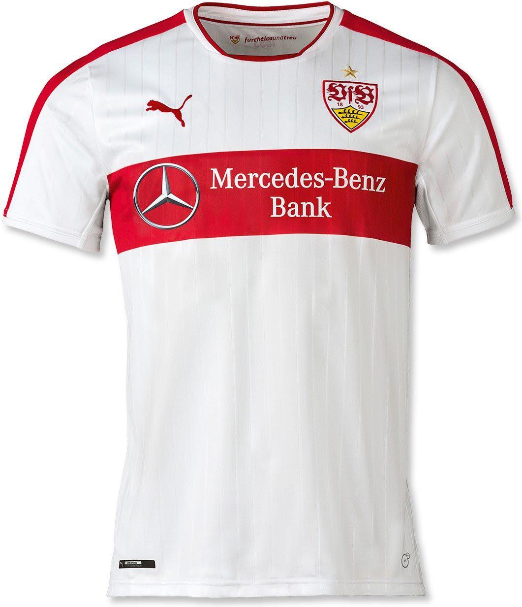 Stuttgart 16 17 Home Kit Released Soccer Shirts Stuttgart Shirts