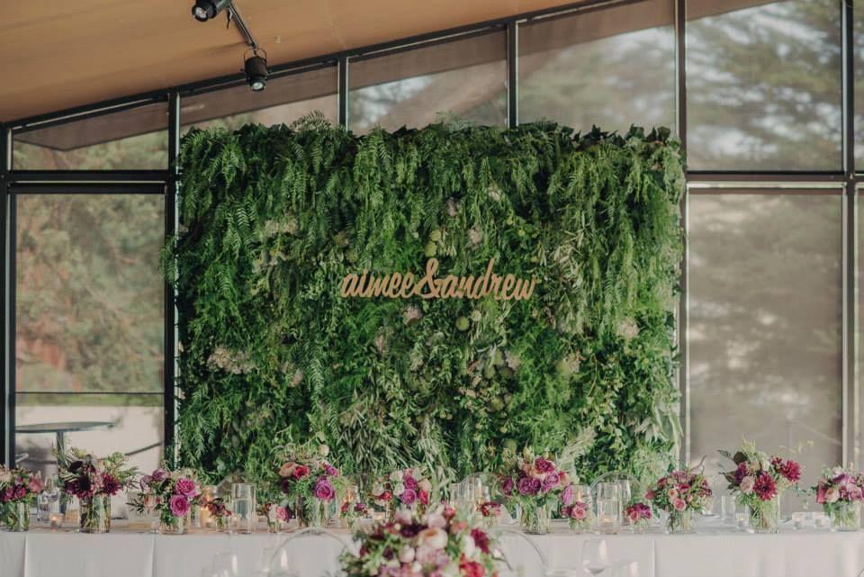 Blooms Living Wall Backdrop Flower Wall Wedding