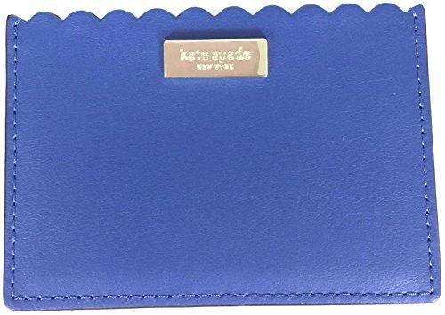 innovative design 84b4c 969b8 Kate Spade Italian Leather Scalloped Graham Wallet Business Card ...