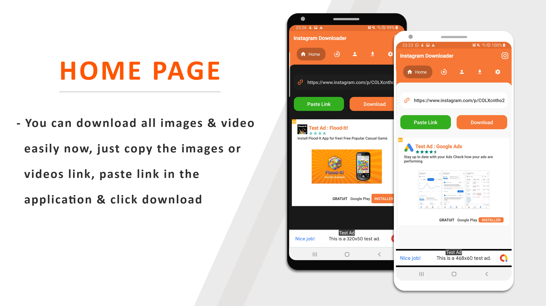 Instagram Downloader - Videos, Photos, Stories, Reels, ITGV - All In One Instagram Downloader App - 3