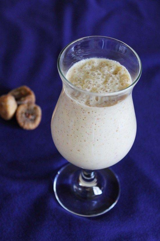 Cashew Fig Milkshake Recipe Kaju Anjeer Milkshake Recipe Recipe Chilled Desserts Milkshake Recipes Sorbet Recipes