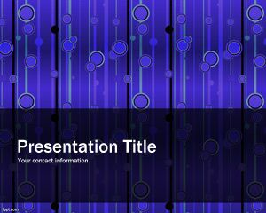 Elegant Pattern Powerpoint Template Is A Blue Theme For Powerpoint