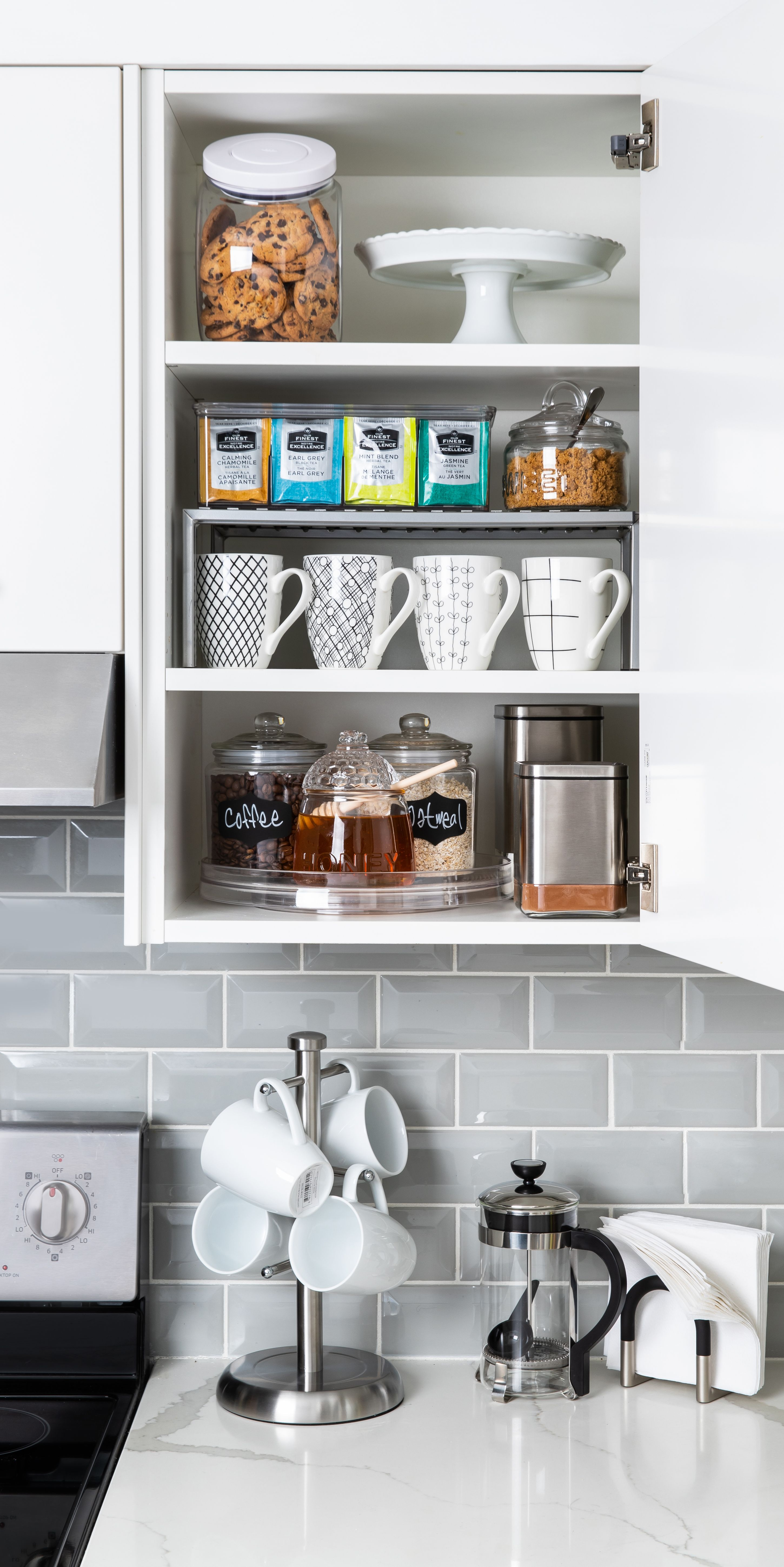 Get Your Cupboards And Counters Organized!
