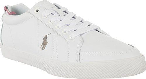 Mode Blanc Polo Baskets Chaussures Homme Ralph Lauren Hugh wPPv1Xq
