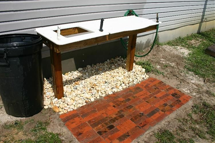 Outdoor Fish Cleaning Station Do It Yourself Surftalk