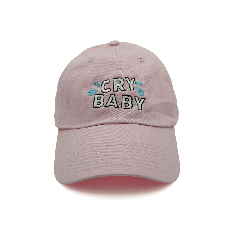 7795ed0ce Cry Baby Dad Hat - Pink   - accessories -   Dad hats, Hats, Cute hats