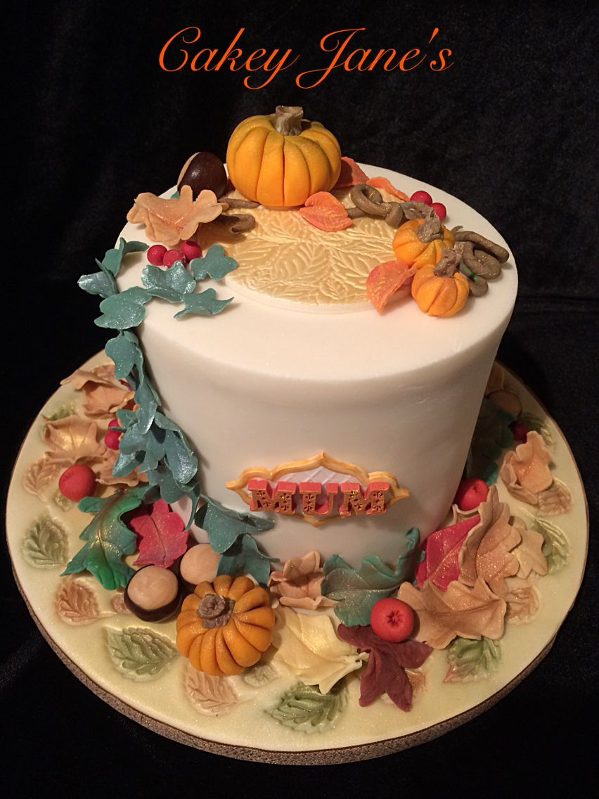 Halloween Themed Birthday Cake Ombre 4 Layer In Chocolate Coffee Almond And Vanilla With Baileys Buttercream Frosting