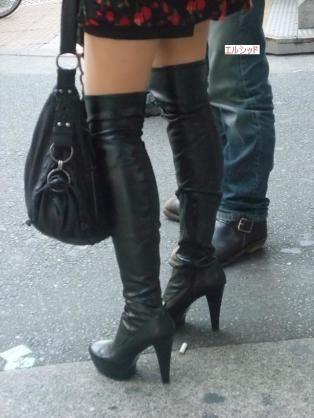 街撮り ブーツ Pinterest
