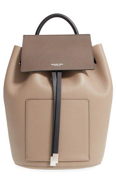 michael kors large miranda leather backpack available at rh pinterest com