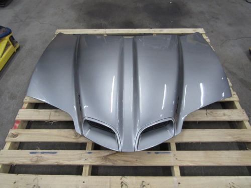 1998 2002 Firebird Trans Am Ws6 Hood Ram Air Oem Factory Pewter
