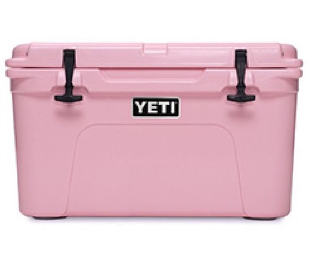 Yeti Tundra 35 Pink Limited Edition New In Box Free Shipping Pink Yeti Cooler Pink Cooler Yeti Cooler