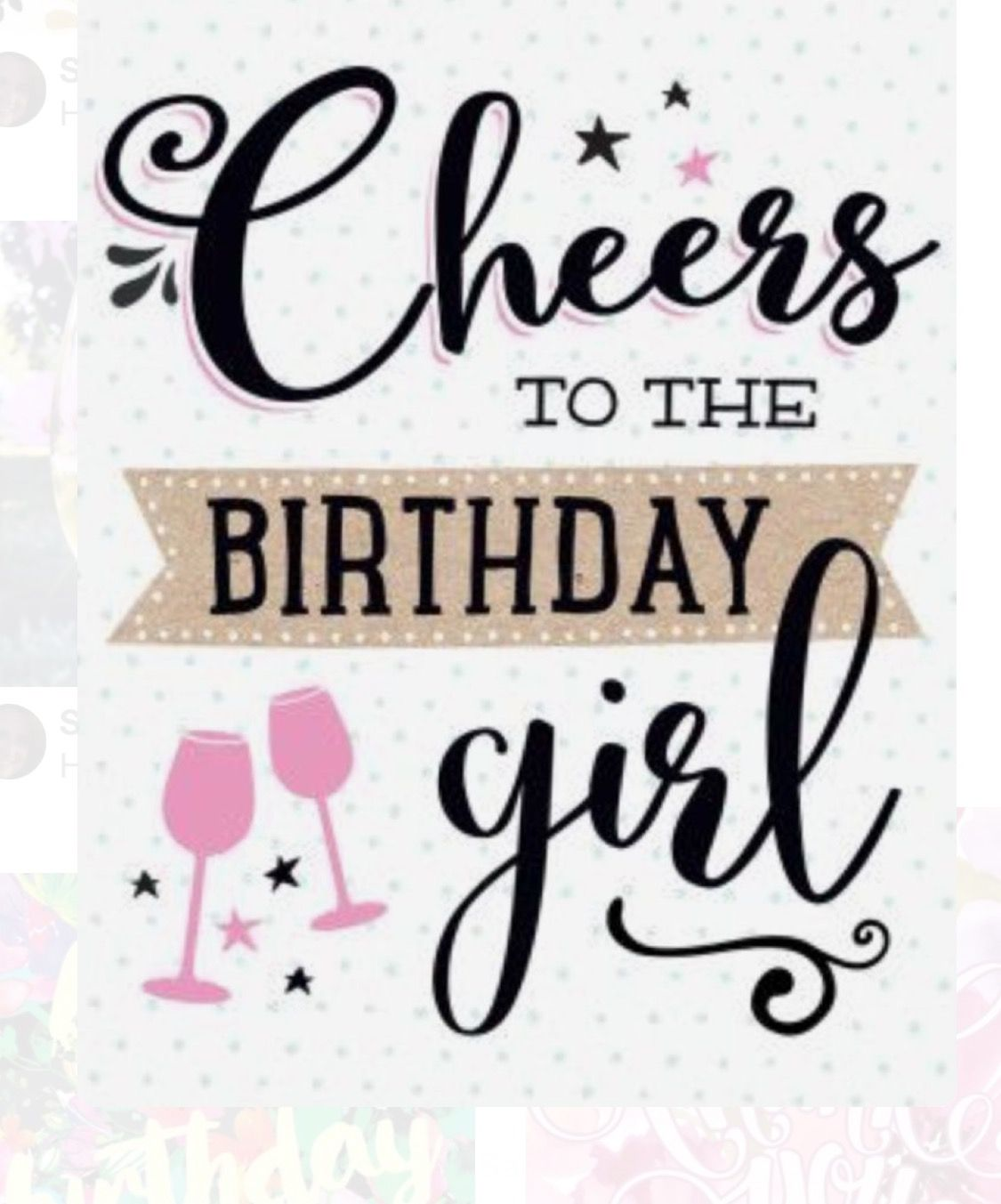 Small Crop Of Happy Birthday Girl Meme