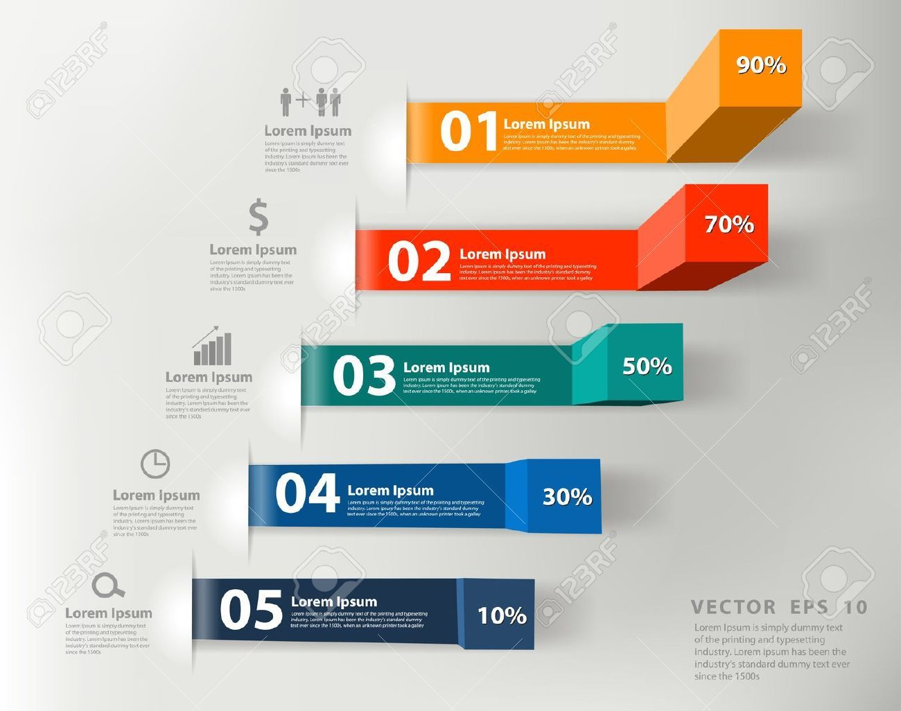 medidas comerciales modernos a informes de  u00e9xito y las