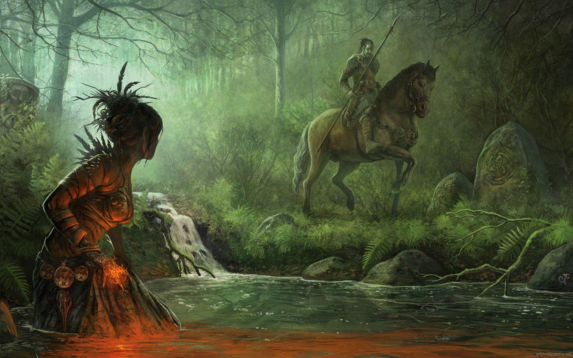 Resultado de imagen para got first men vs children of the forest