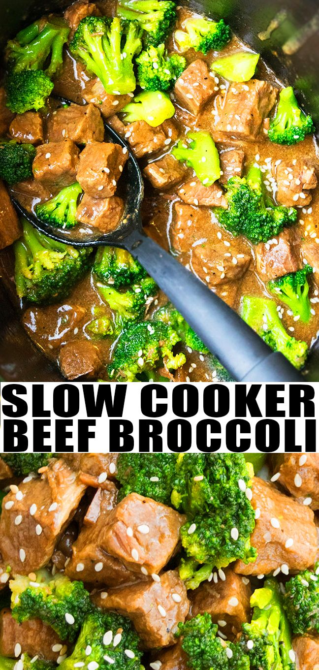 Slow Cooker Beef and Broccoli Recipe images