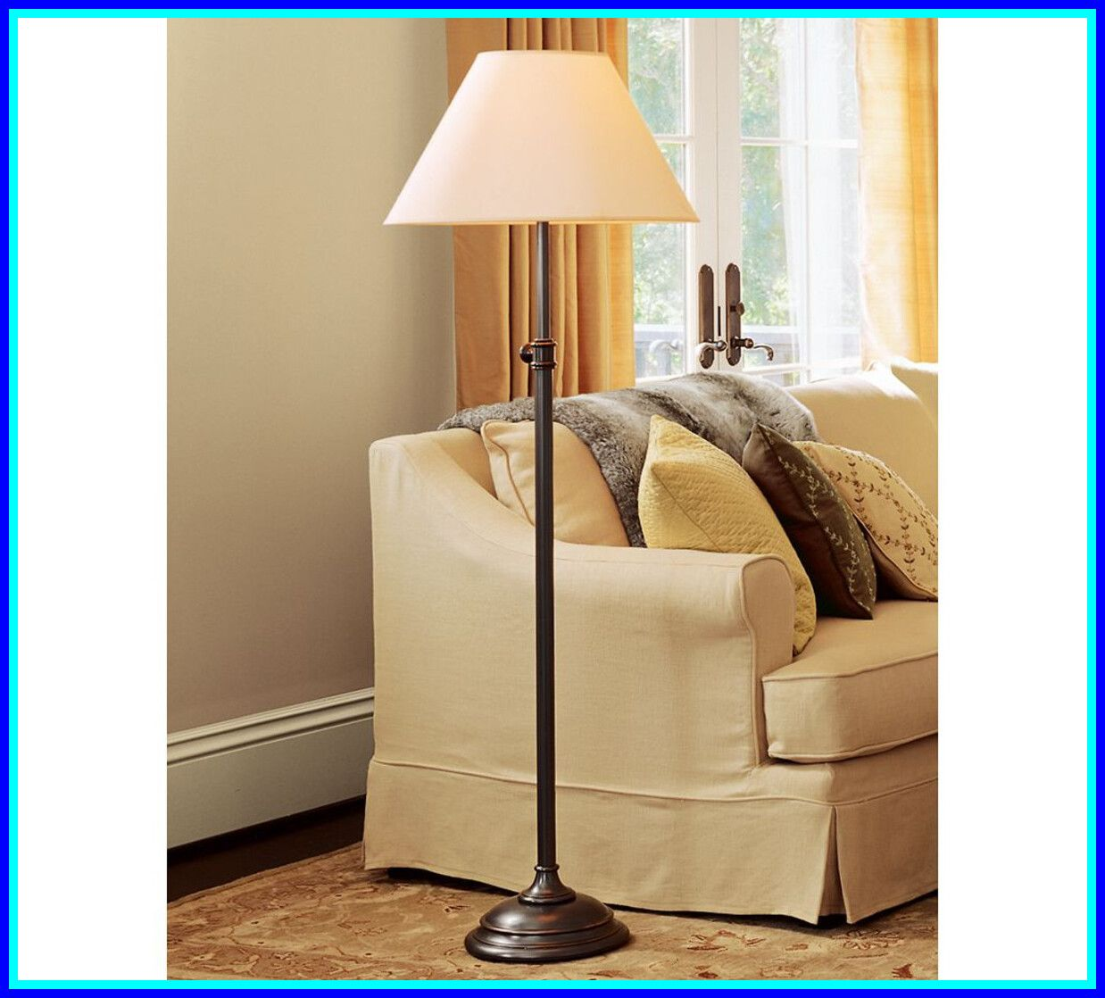 80 reference of tall lamp pottery barn in 2020 Floor