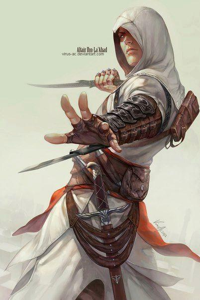 Assassin's Creed | Arte de videojuegos, Personajes de