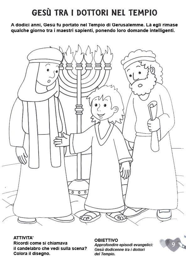 Ges tra i dottori del tempio religione - Artigianato per cristiani ...